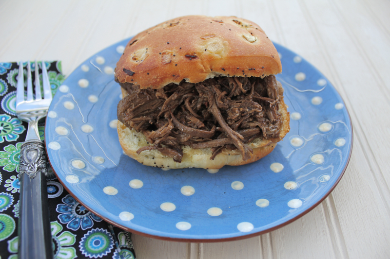 Crock Pot Beef Sandwich