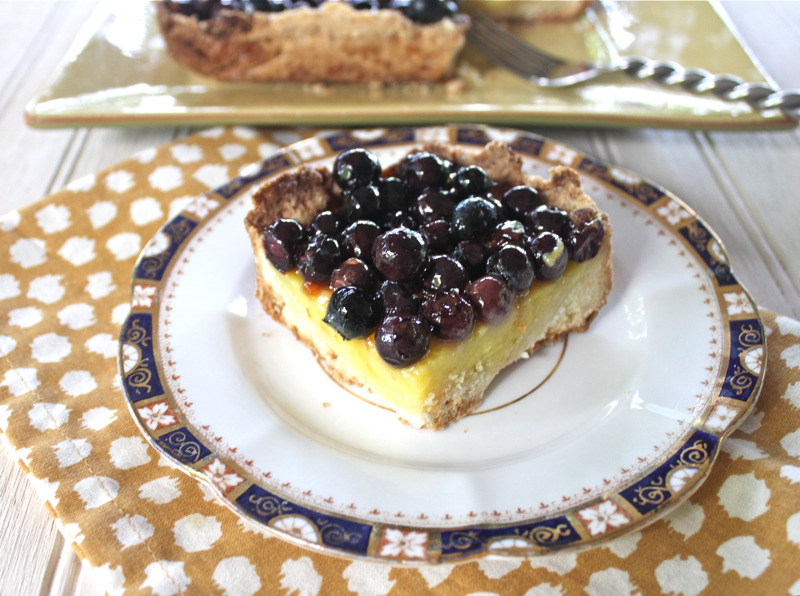 Lemon-Lime Blueberry Squares 3
