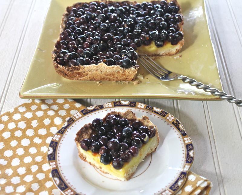 Lemon-Lime Blueberry Squares