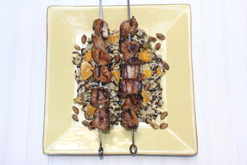Grilled Chicken Kabobs 1