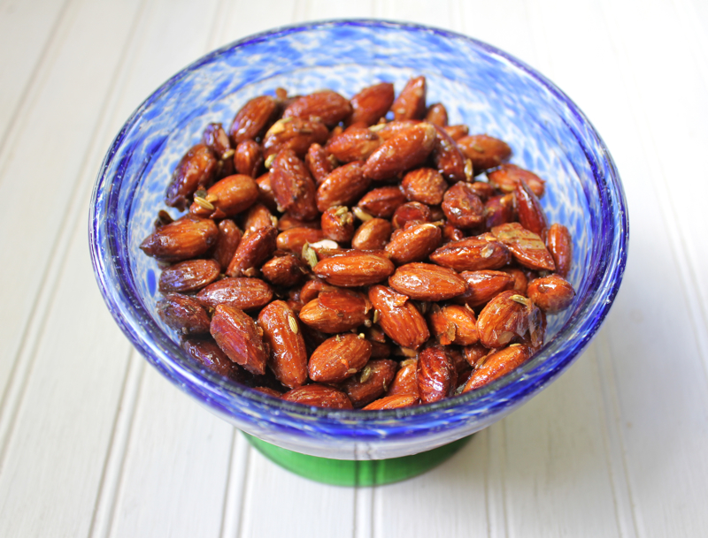 Glazed Almonds 3