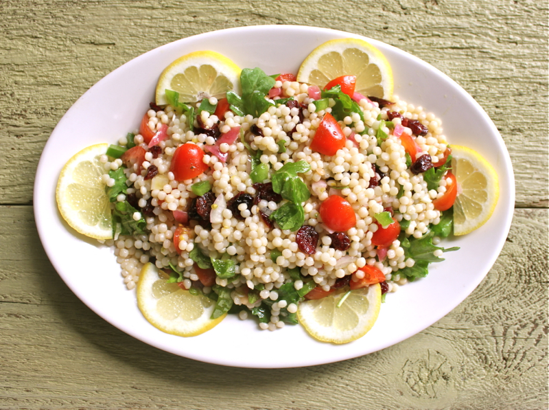 Couscous with Arugala 1