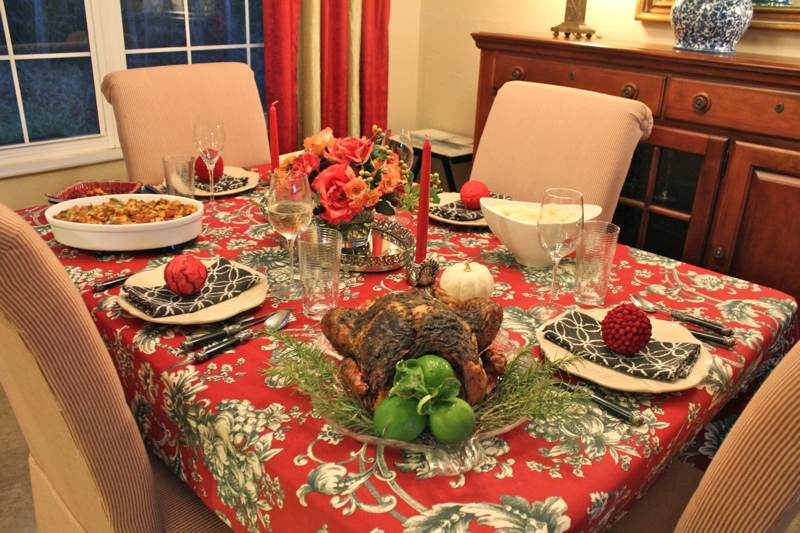 Thanksgiving Dinner 2014 1