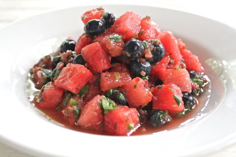 Watermelon Blueberry Salsa 3