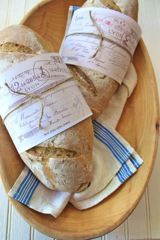 Garlic Rosemary Baguette 2v