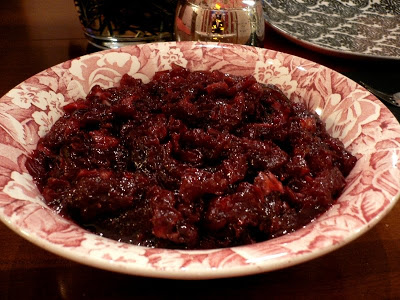 Cranberry-Lime Chutney