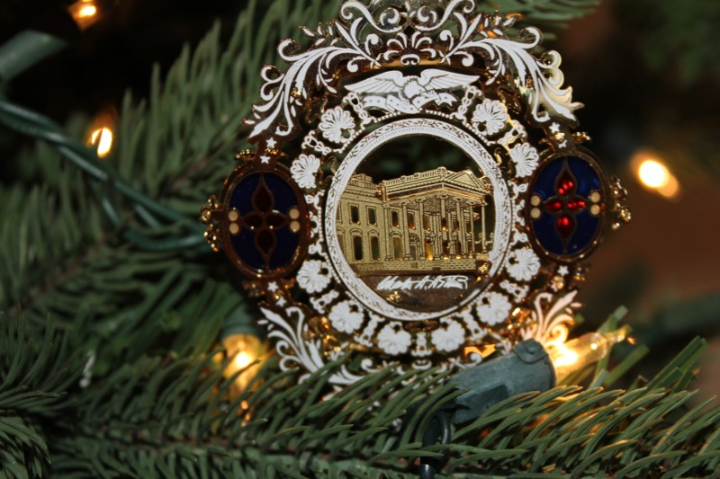 White House Ornament 2006