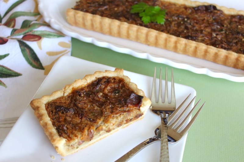 Onion and Bacon Tart 3