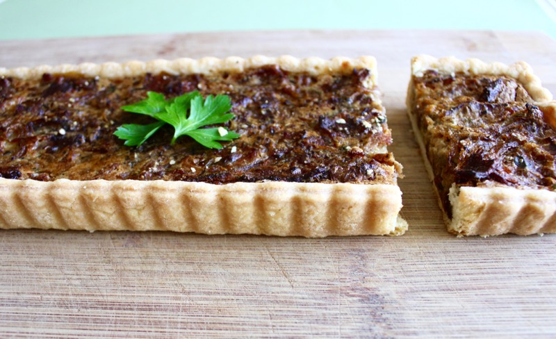 Onion and Bacon Tart 5