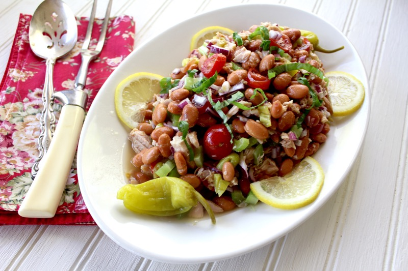 Pinto Bean and Tuna Salad 1