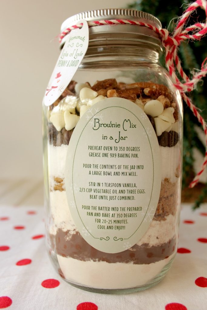Brownie Mix Instructions