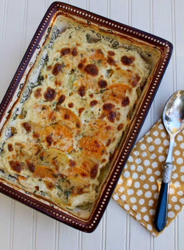 Two Potato Gratin 1V