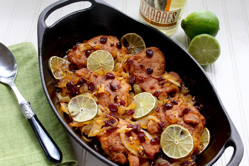 Margarita-Braised Chicken Thighs